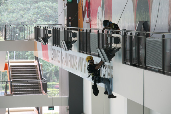 Rope Access Installation